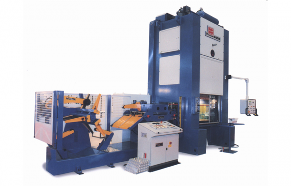 COMPACT FEEDER STRAIGHTENER AND DECOILING LINE